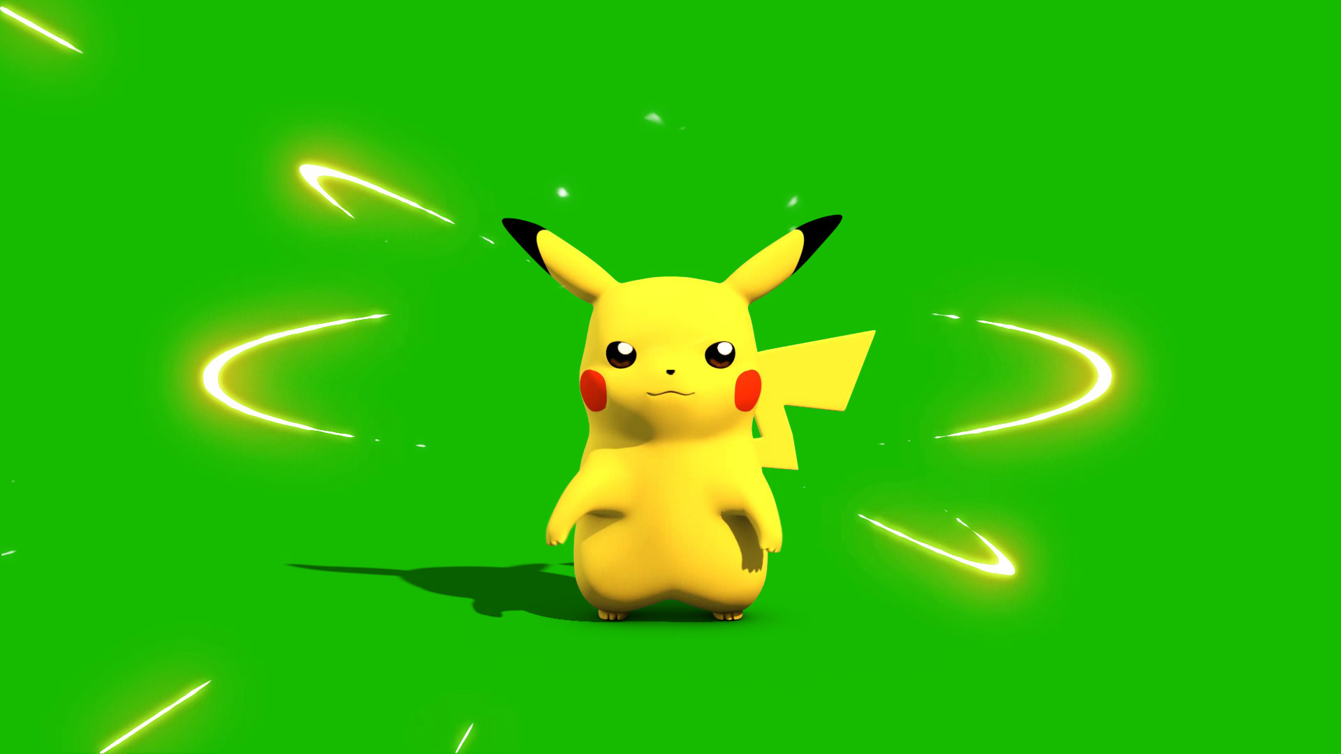Hd Wallpapers 1080p Nature Animated Pokemon Go Pikachu 3d Model Animated Pixelboom