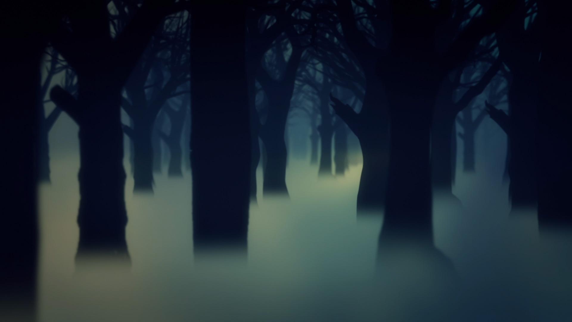 3d Action Wallpaper Hd Dark Forest Fog 3d Model Animated Pixelboom