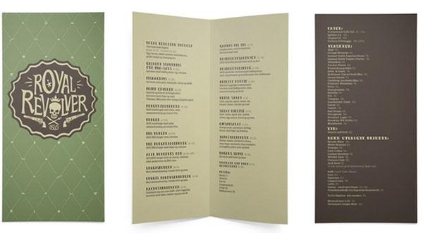 40 Creative And Beautiful Restaurant Menu Designs Pixel Curse