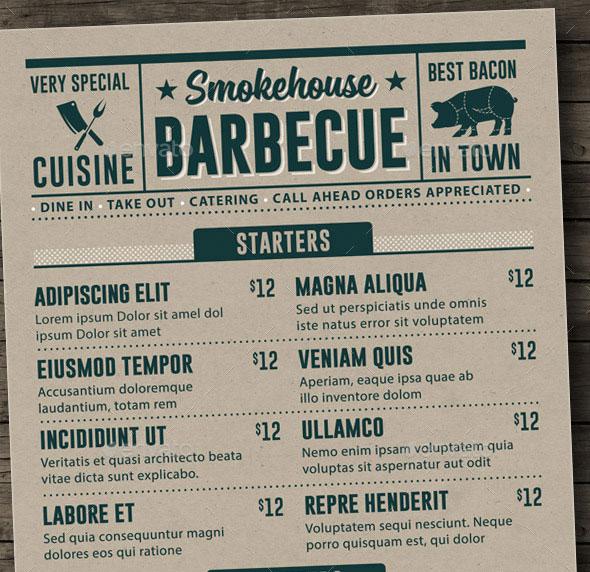 25 Best Restaurant Menu Design Templates 2015 Pixel Curse - menu design template