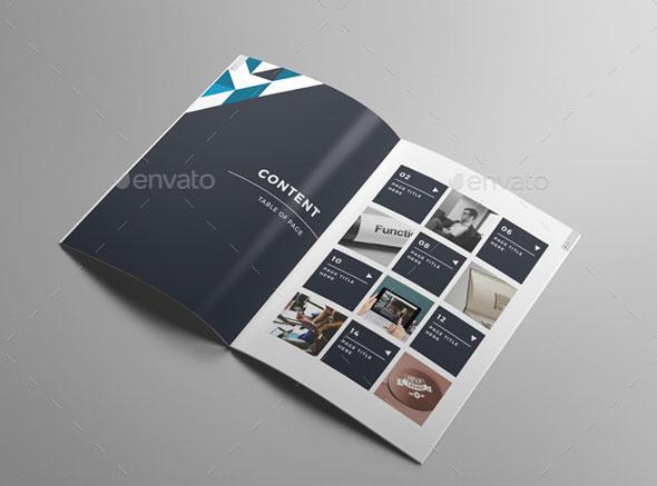 create an online brochure