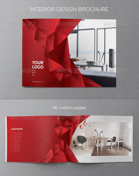 20 Amazing Interior Design Brochure Templates Pixel Curse - interior design brochure template