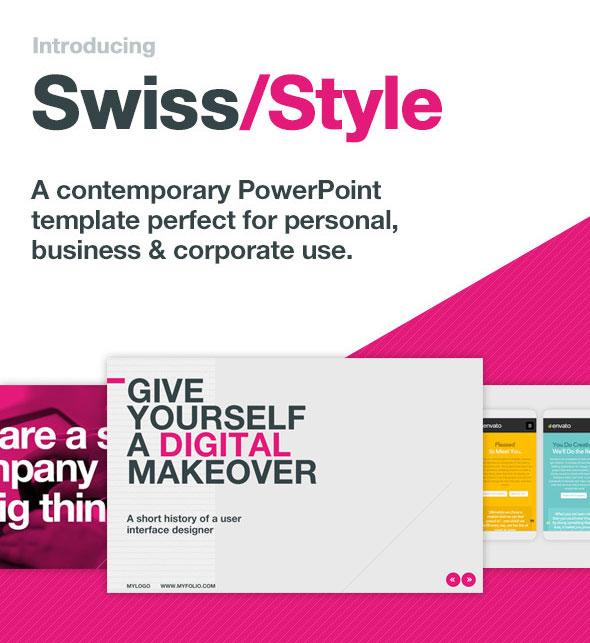 25 Stunning Typography PowerPoint Design Templates Pixel Curse