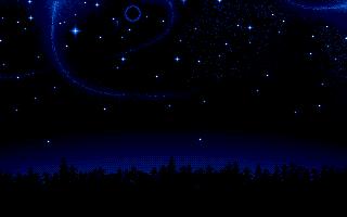 Falling Stars Grunge Wallpaper Christmassy Night Scene Pixeljoint Com