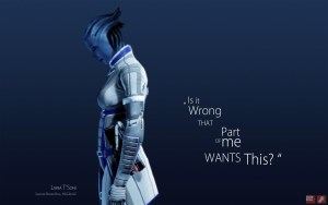 Liara Mass Effect