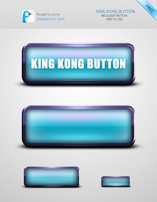 King Kong Huge Web Button