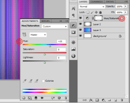 10 Heu Saturation Colorful Tiles Background in 3 Steps   Tutorial