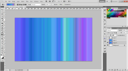 4 apply gradient Colorful Tiles Background in 3 Steps   Tutorial