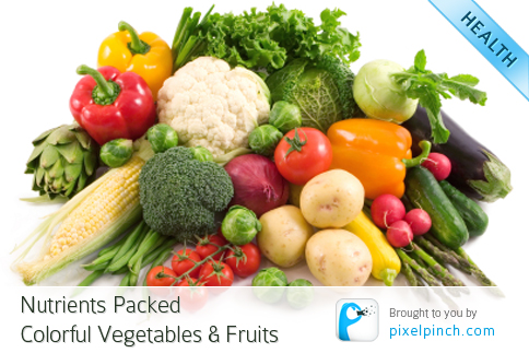 Folder1 Nutrients Packed Colorful Vegetables & Fruits
