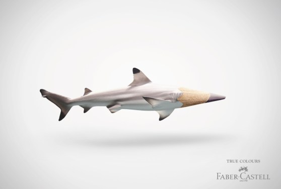faber castell truecolours hai Top Print Advertisements of 2011 Biannual