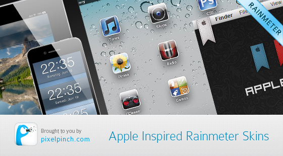 Apple inspired rainmeter skins Apple Inspired Rainmeter Skins & Themes