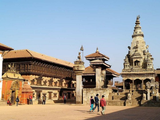 Bhaktapur Durbar Square 7 UNESCO Listed Heritage Sites of Nepal (within Kathmandu Valley)