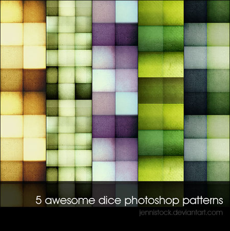Dice_patterns_by_JenniStock