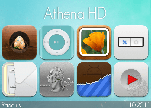athena hd by raadius d4cmjft Fresh & Best Icon Collection Of The Month October #3