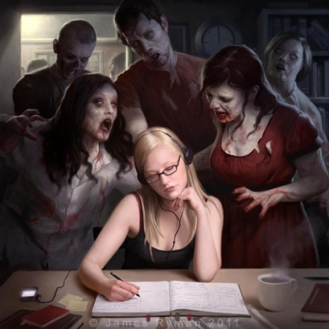 student body by namesjames d4bg95e 20 Fresh, Best & Scary Halloween Artworks Of Year 2011
