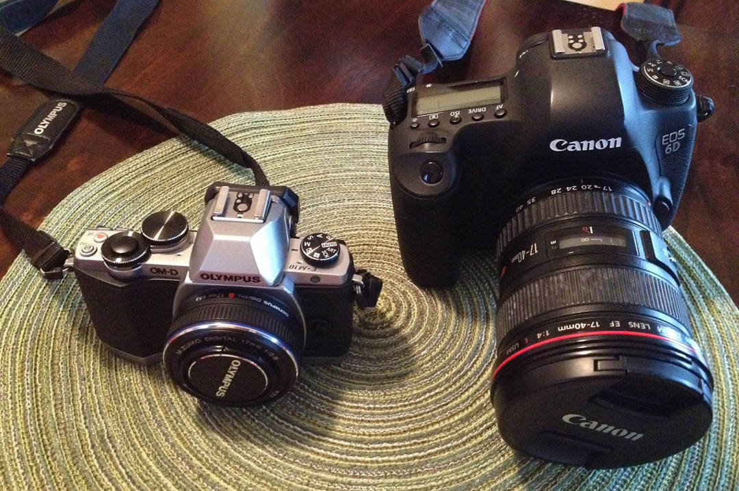 Difference Between DSLR vs Mirrorless vs Point & Shoot Cameras