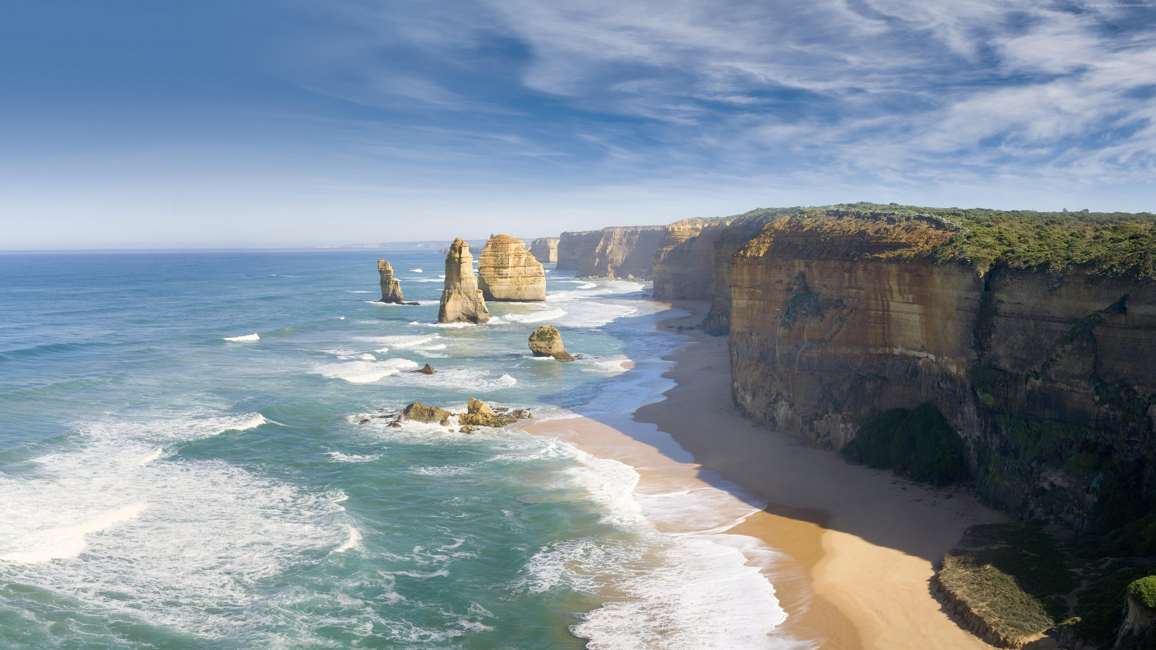 Nature Animals Wallpaper Great Ocean Road Victoria Australia Uhd 4k Wallpaper