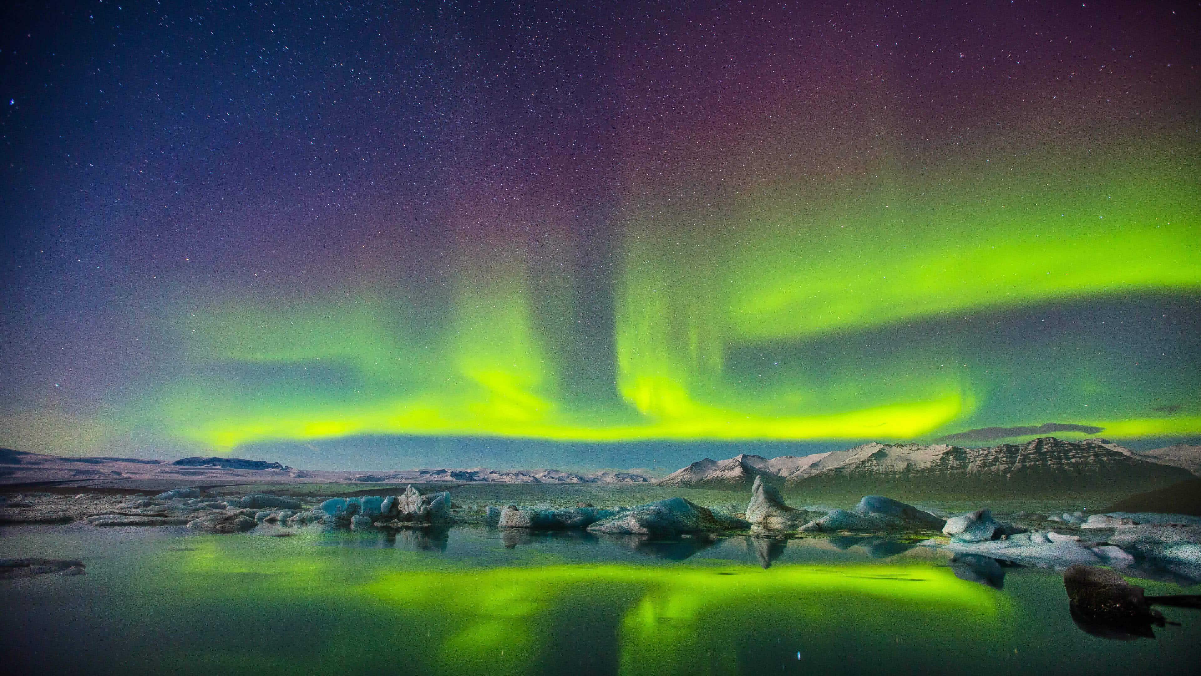 Www Hd Wallpaper Com Nature Aurora Borealis Northern Lights Uhd 4k Wallpaper Pixelz