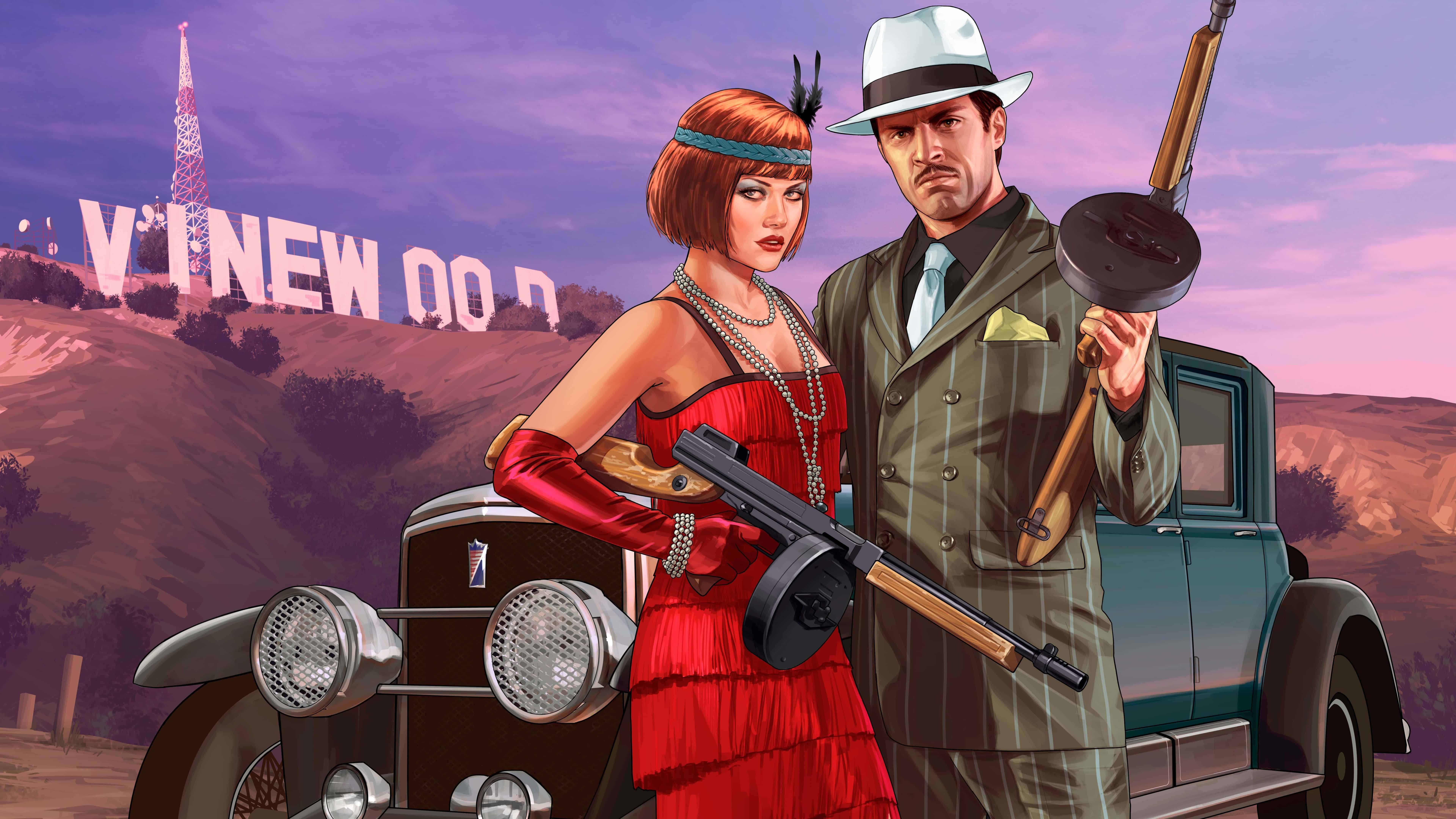 Cars Hd Mobile Wallpapers Grand Theft Auto 5 Mafia Valentine Outfits Uhd 8k