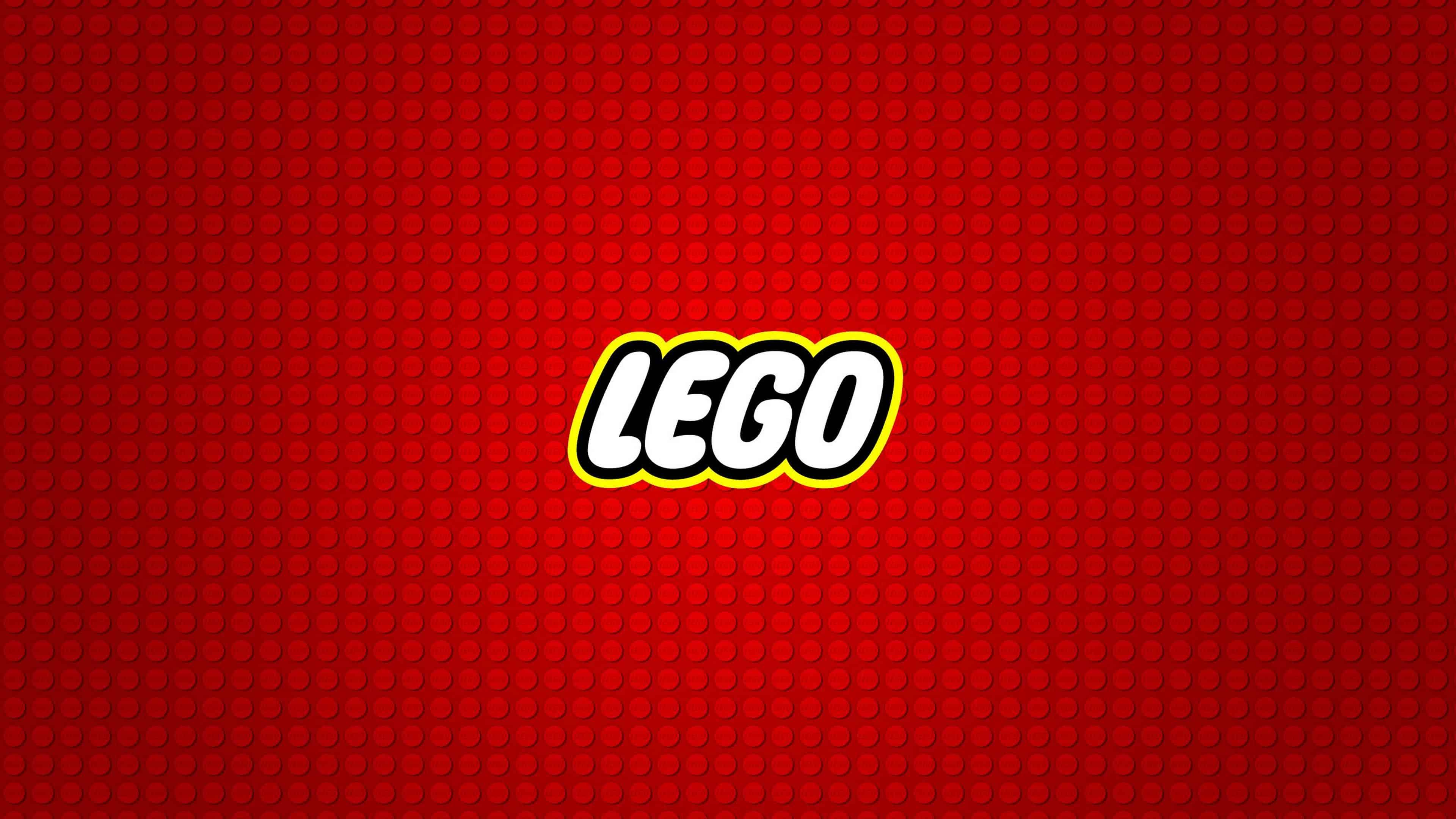 Ultra Hd Wallpapers Iphone X Lego Logo Red Background Uhd 4k Wallpaper Pixelz