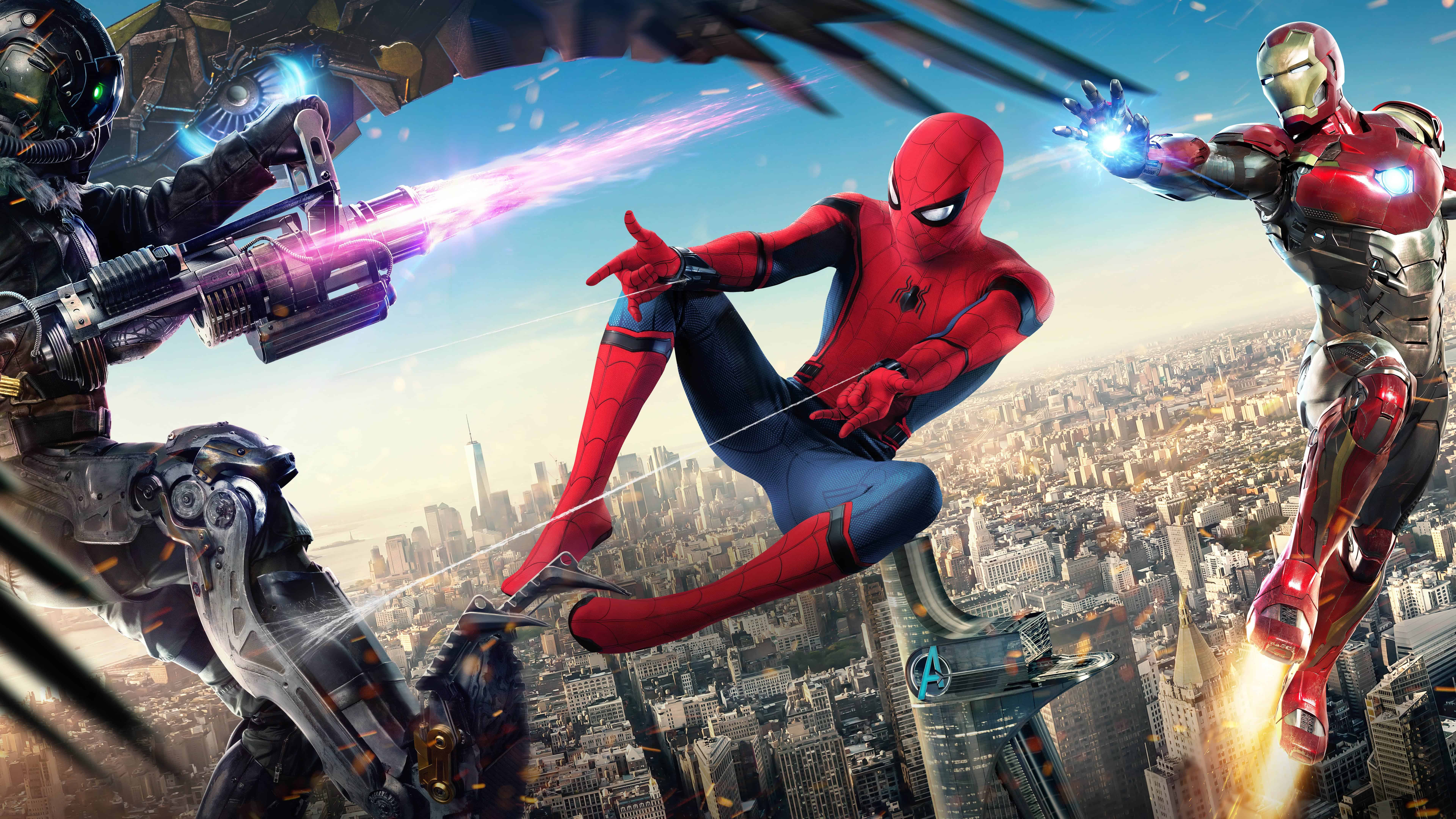 Download Cars Wallpapers For Mobile Spider Man Homecoming Uhd 8k Wallpaper Pixelz