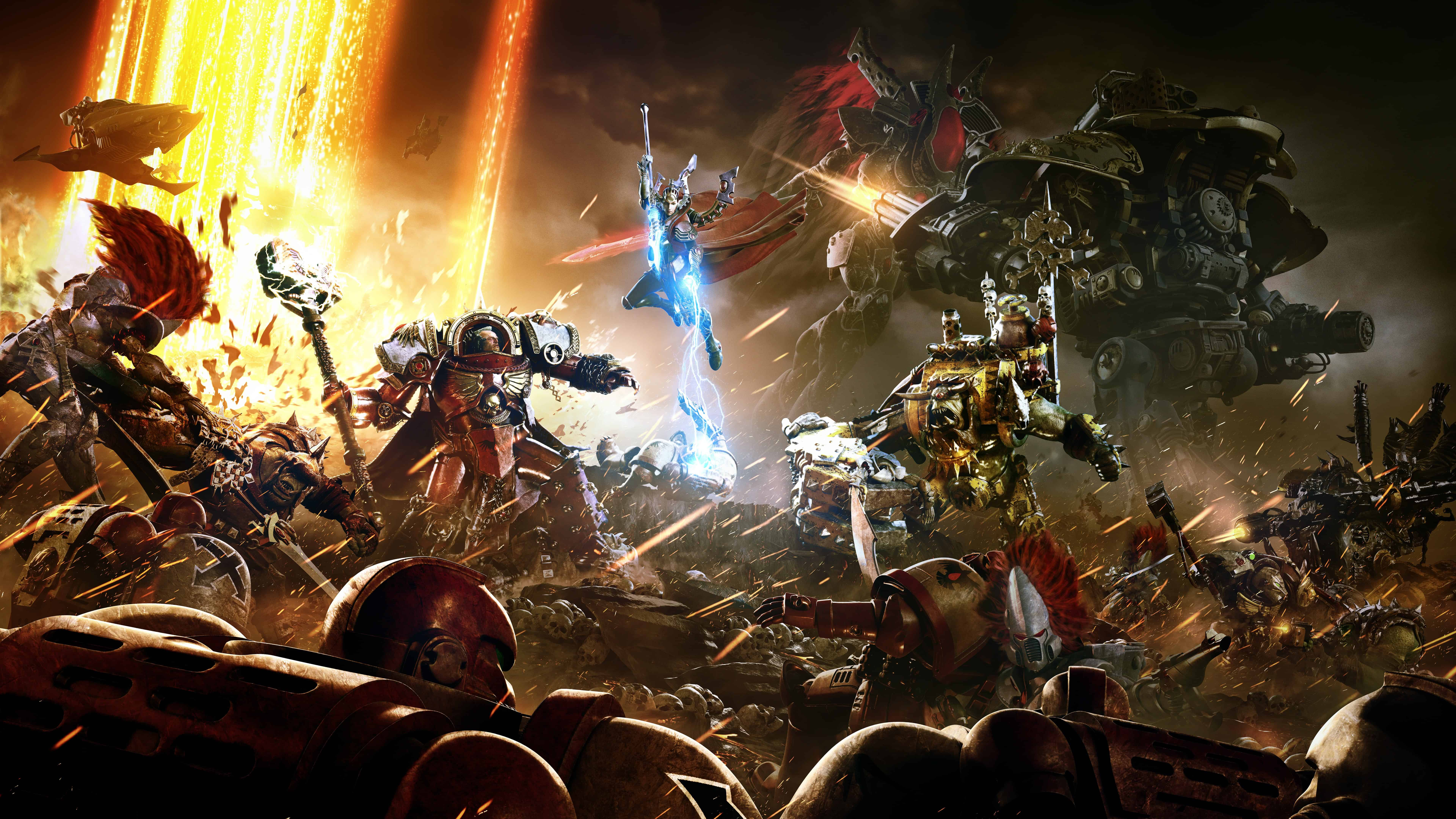 Www Hd Wallpaper Com Nature Warhammer 40k Dawn Of War Iii Uhd 8k Wallpaper Pixelz