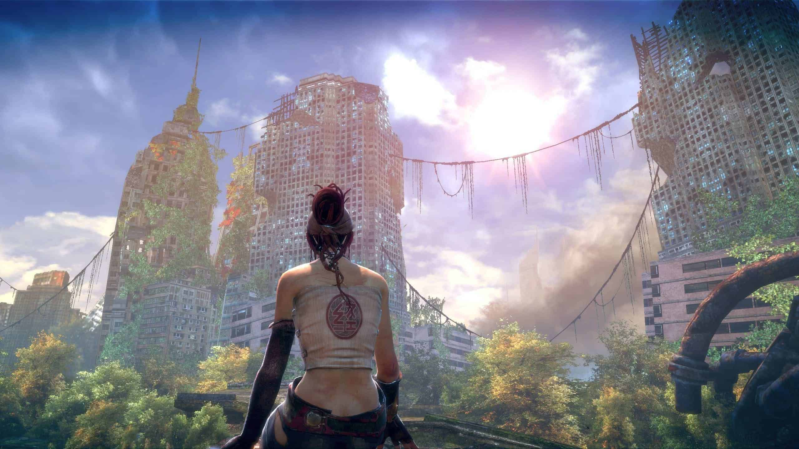 Fall Wallpaper 1440p Enslaved Odyssey To The West New York Wqhd 1440p Wallpaper