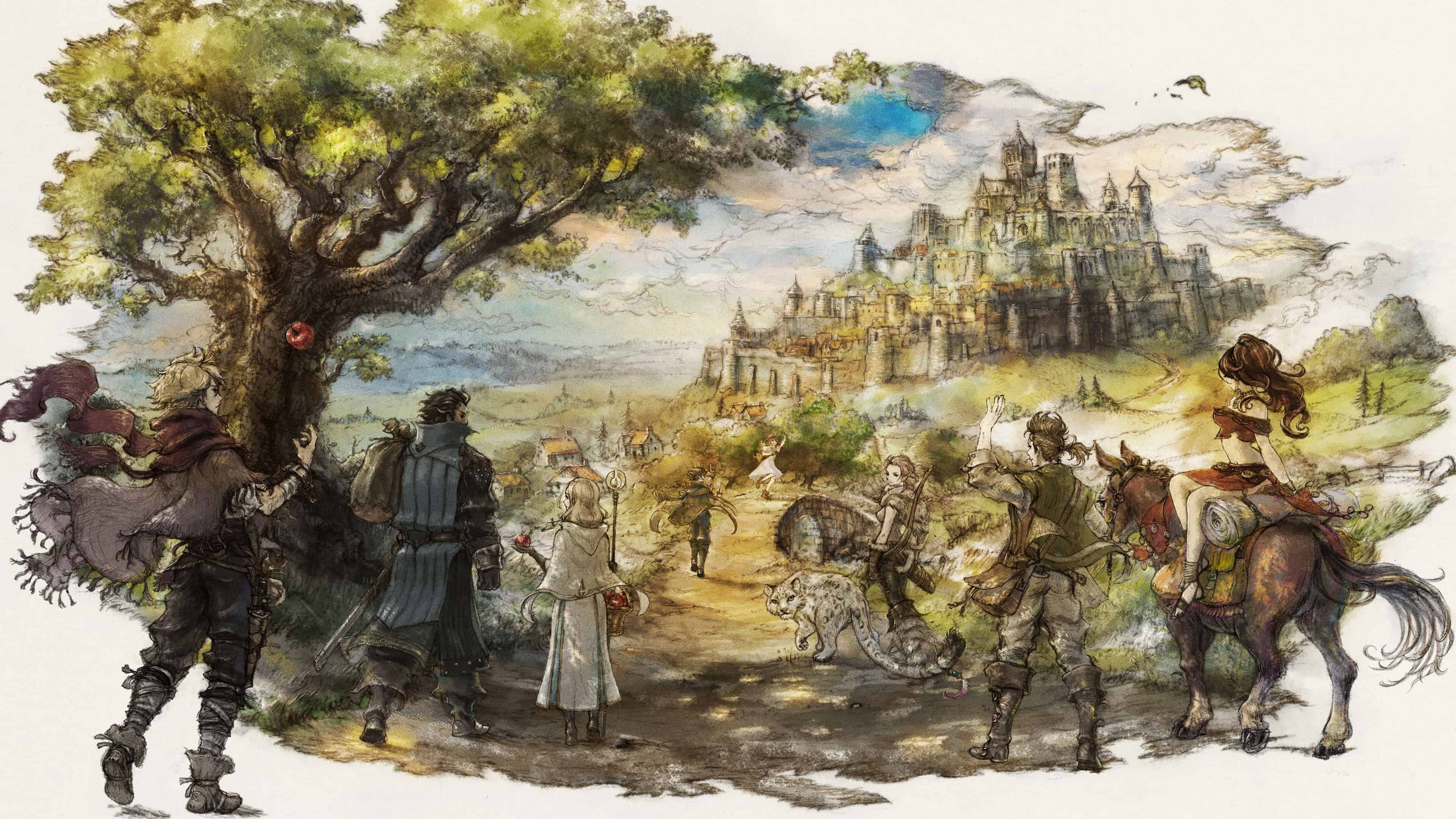 Ultra Hd Wallpapers Cars Octopath Traveler Uhd 4k Wallpaper Pixelz