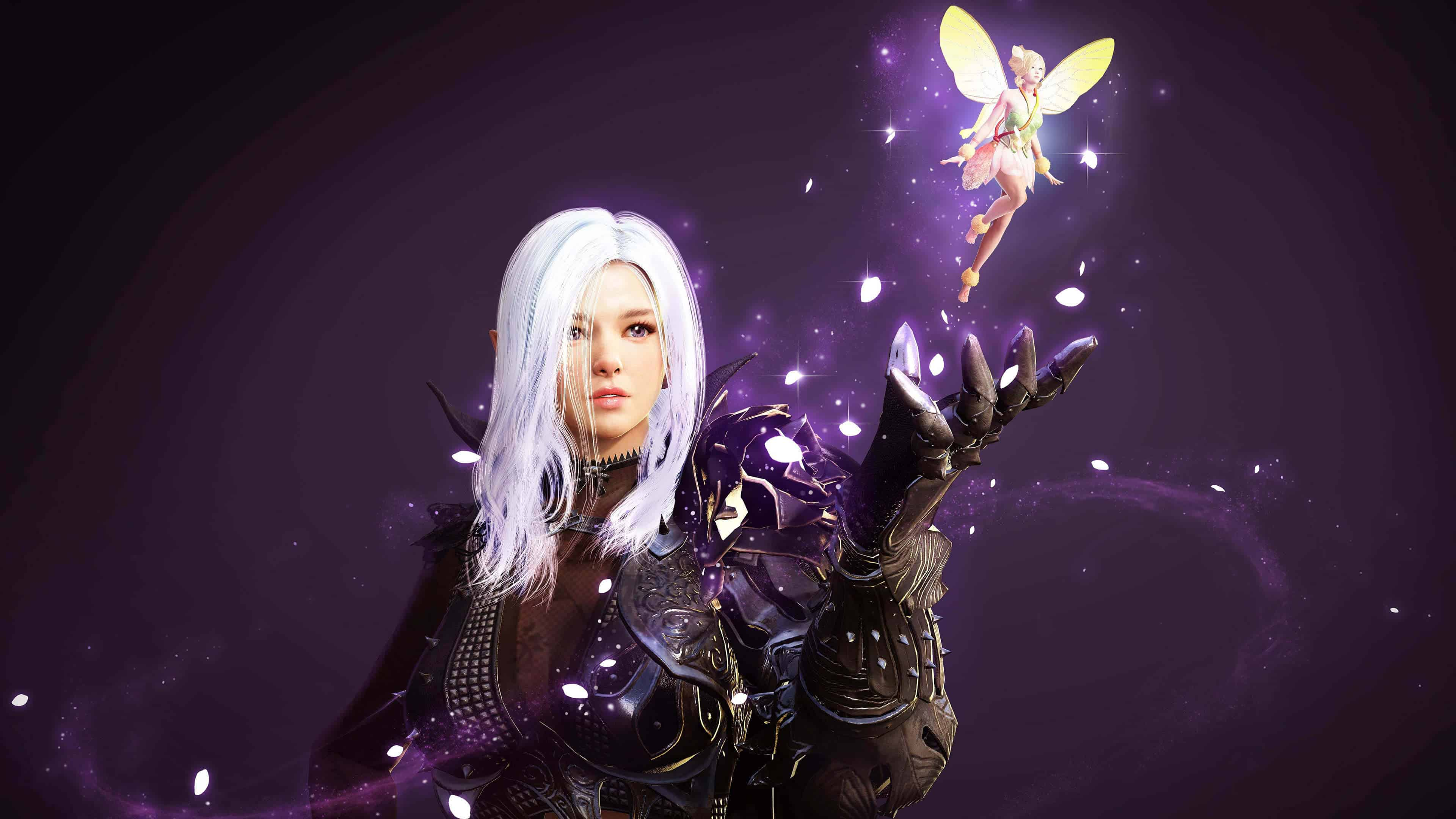 Wallpaper Black Design Black Desert Online Fairy Laila Uhd 4k Wallpaper Pixelz