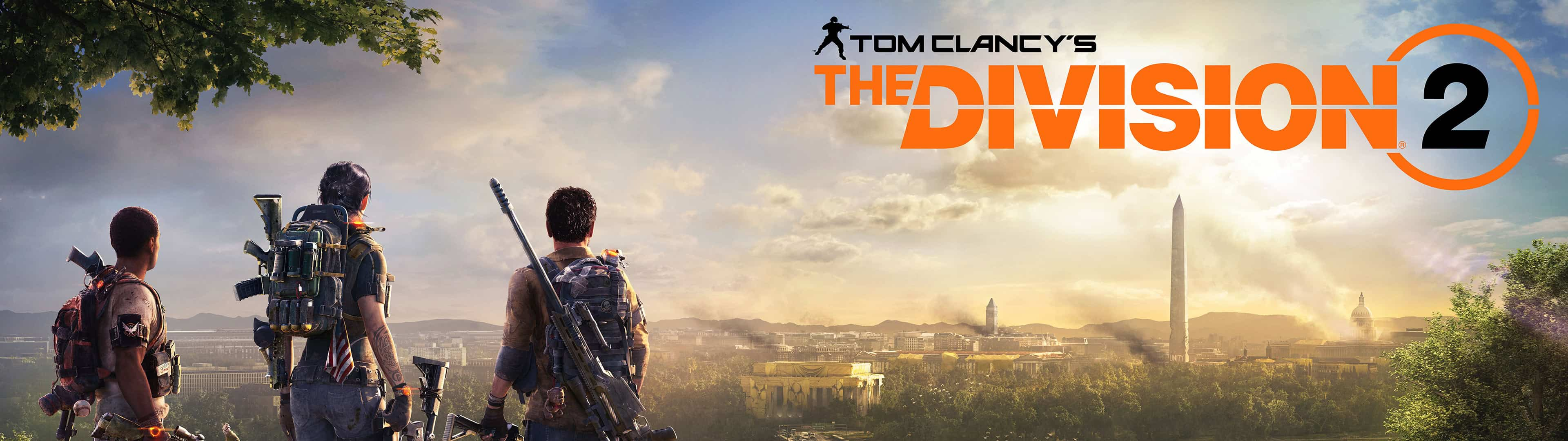 Www Hd Wallpaper Com Nature Tom Clancy The Division 2 Poster Dual Monitor Wallpaper