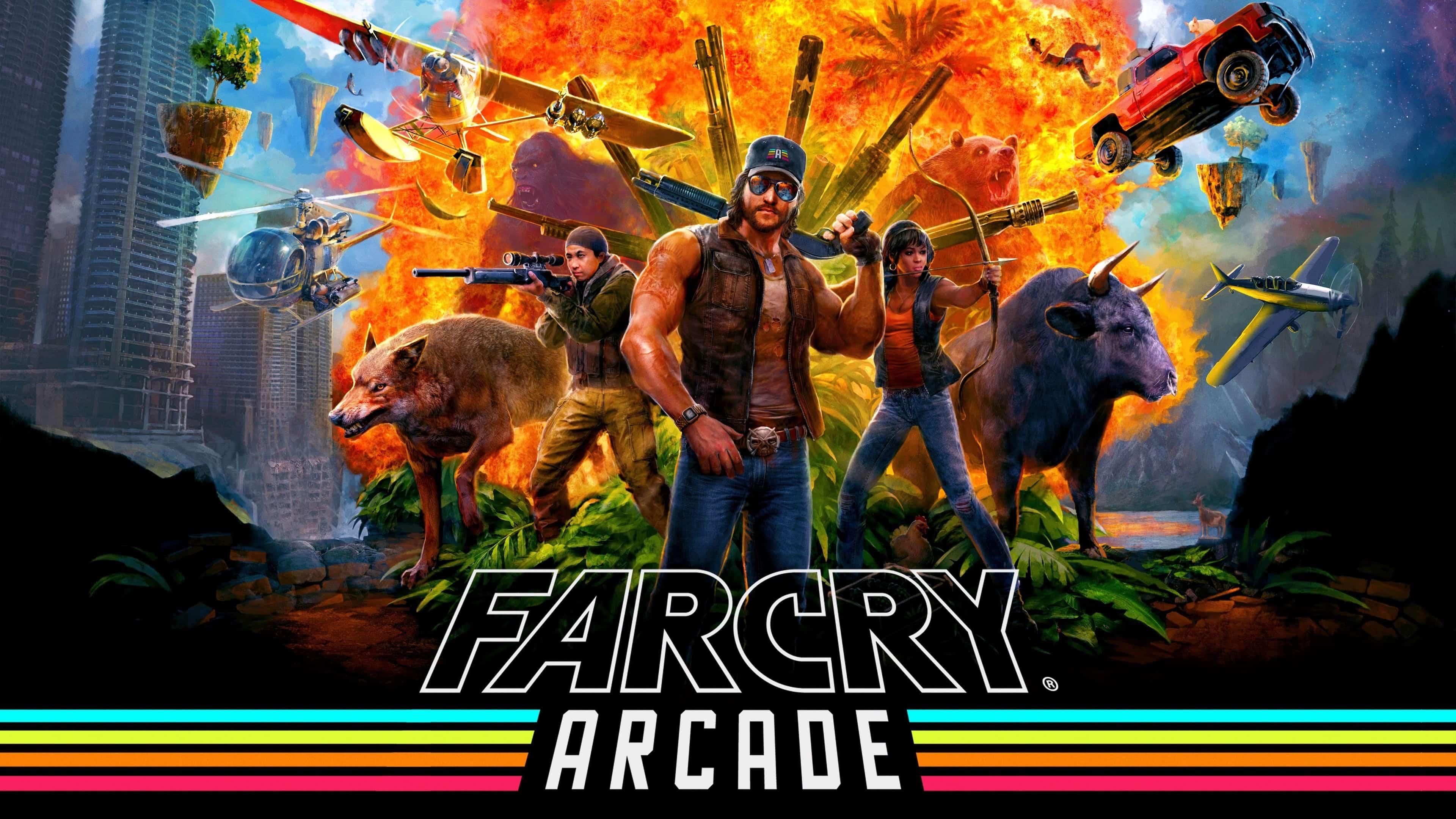 Cars Pc Wallpapers Hd Far Cry 5 Arcade Uhd 4k Wallpaper Pixelz