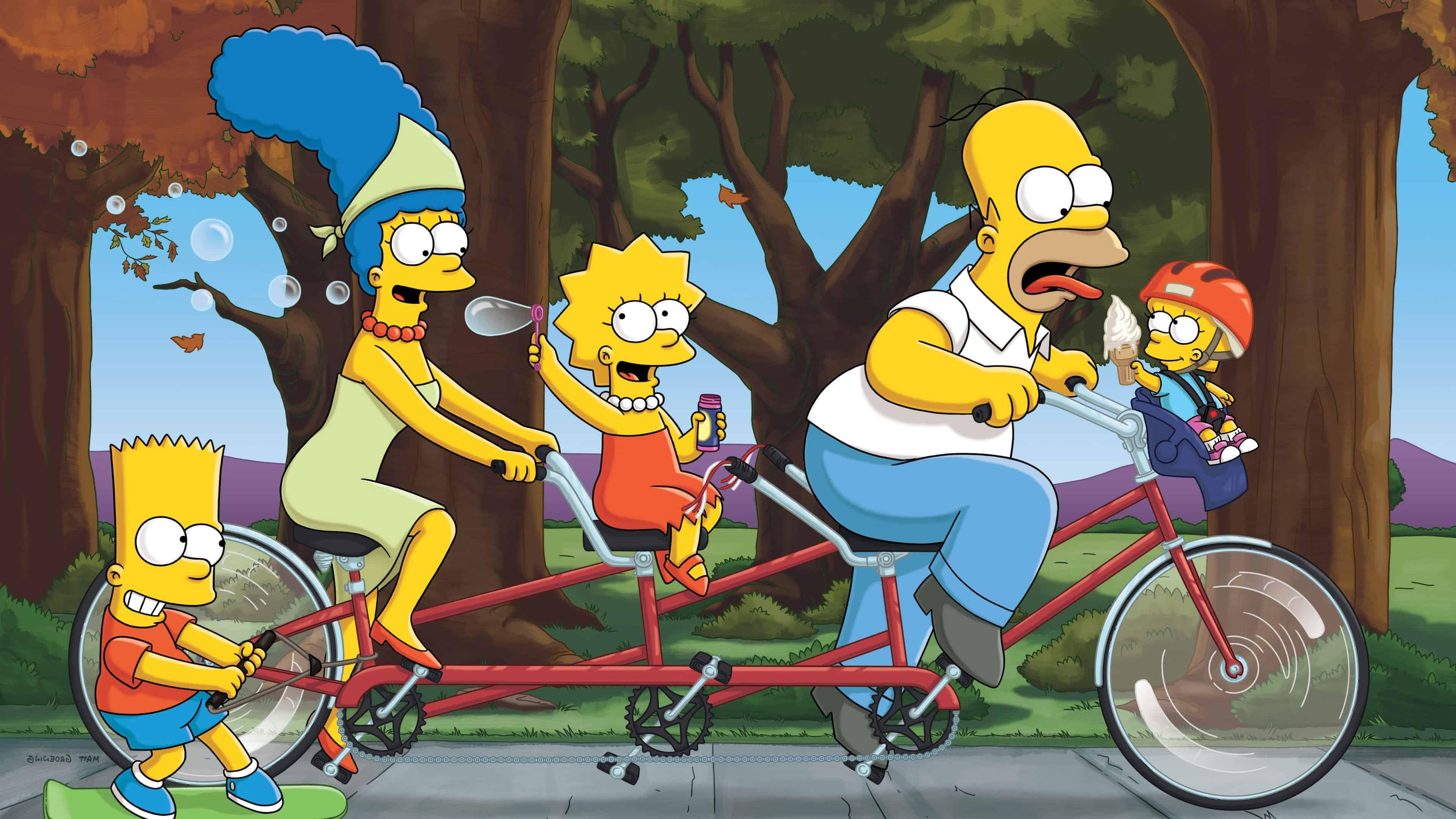 Ultra Hd Wallpapers Cars Simpsons Family Uhd 4k Wallpaper Pixelz