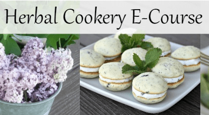 "Homespun Seasonal Living's ""Herbal Cookery E-Course"" Now Enrolling!"