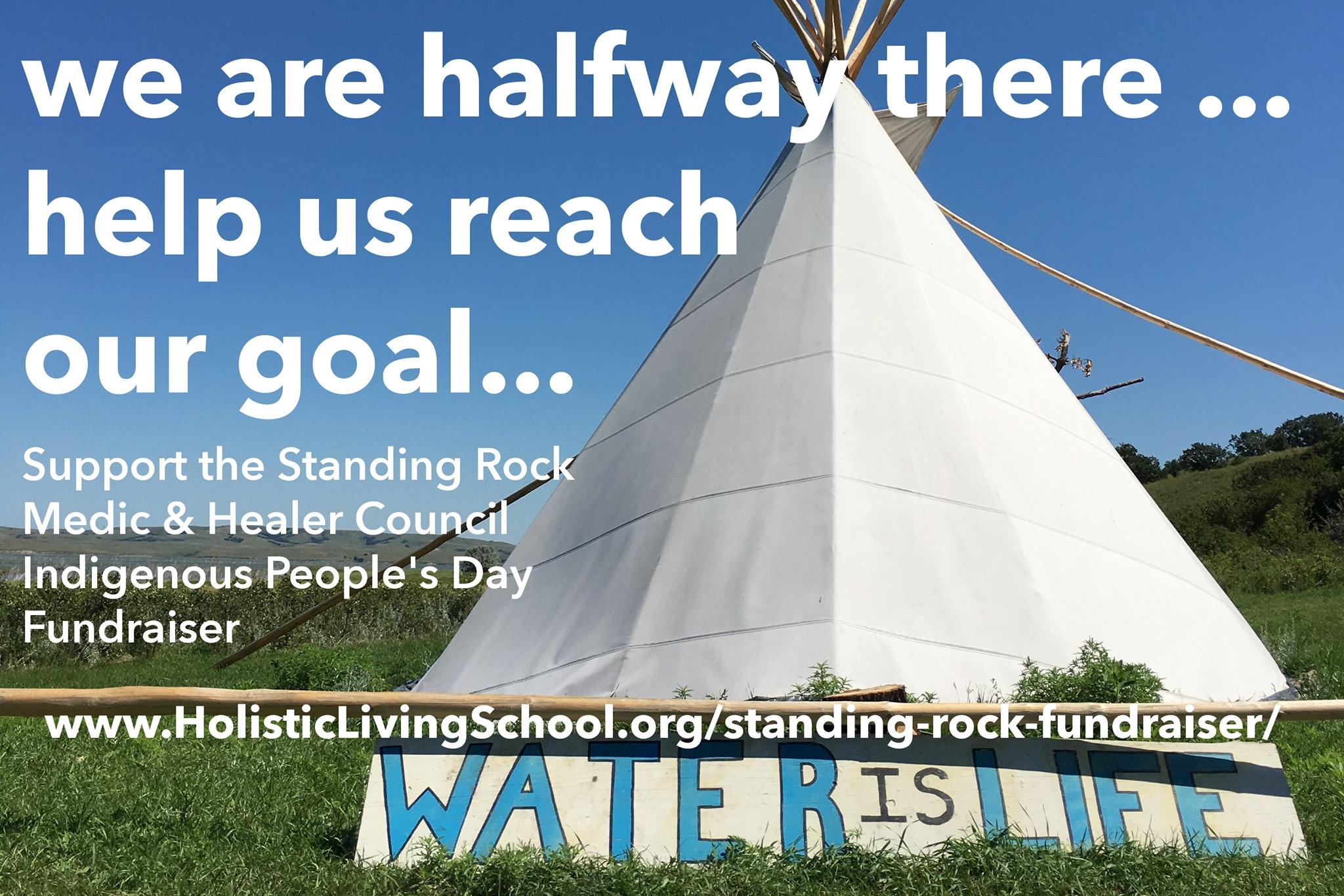 Help support the Water Protectors!