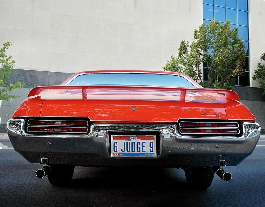 1969 Pontiac GTO Judge Vehicles