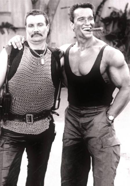 Behind The Scenes Of The Commando Movie Others
