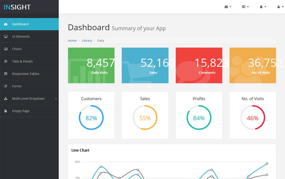 90+ Best Free Bootstrap 4 Admin Dashboard Templates 2018 For WebApp - bootstrap admin template