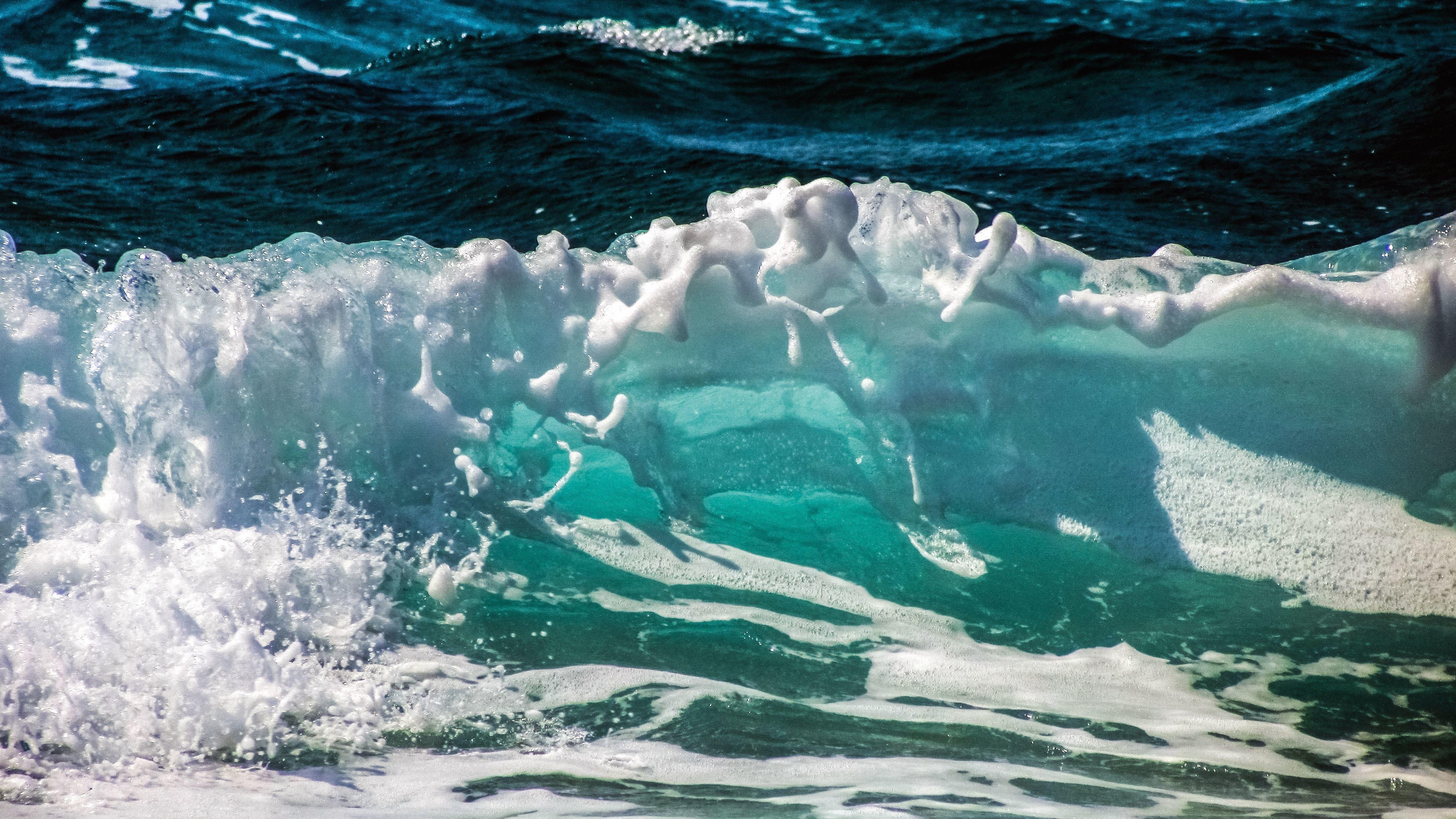 Drops Wallpaper Hd Free Picture Ocean Sea Splash Water Wave