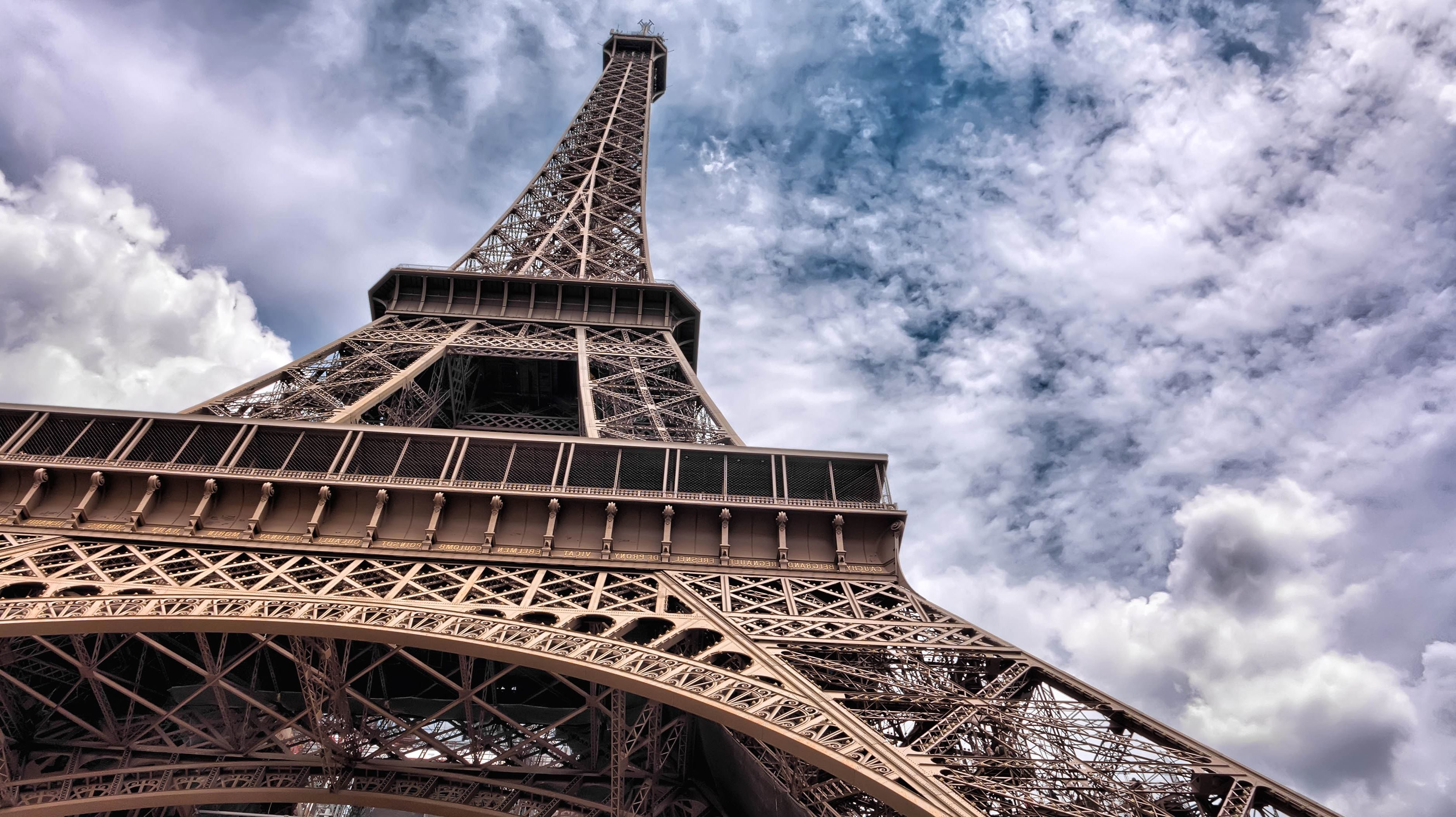 Full Hd Wallpapers High Resolution Free Download Free Picture Eiffel Tower Paris France Construction