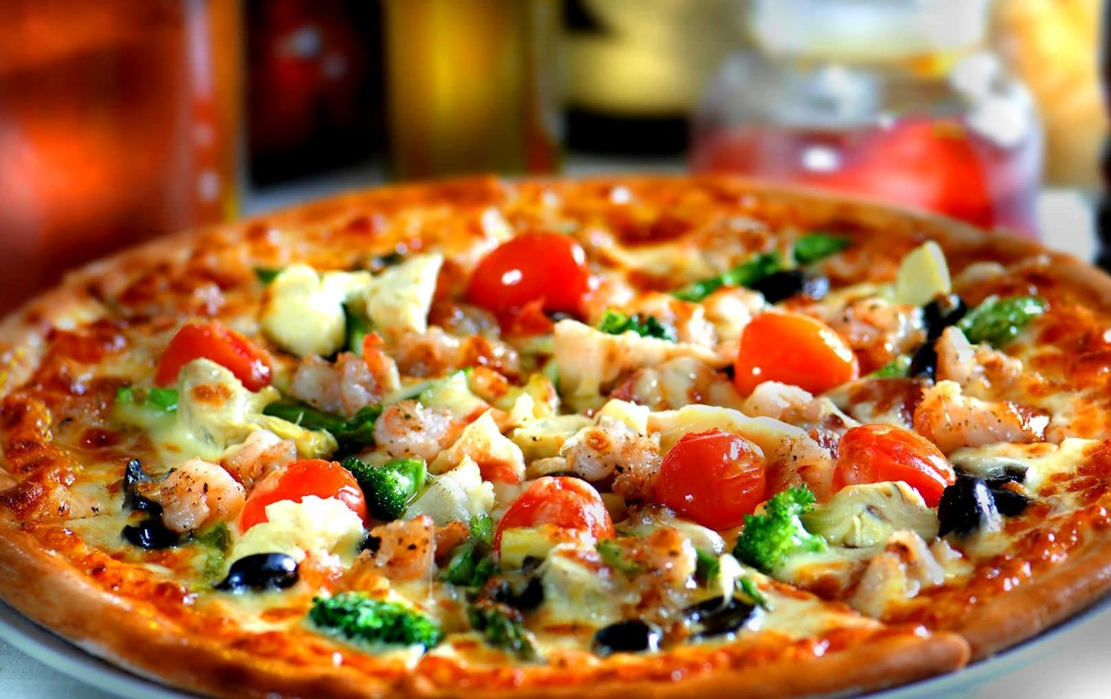 Restaurant Pizza Free Picture Vegetables Italian Food Diet Pizza Restaurant