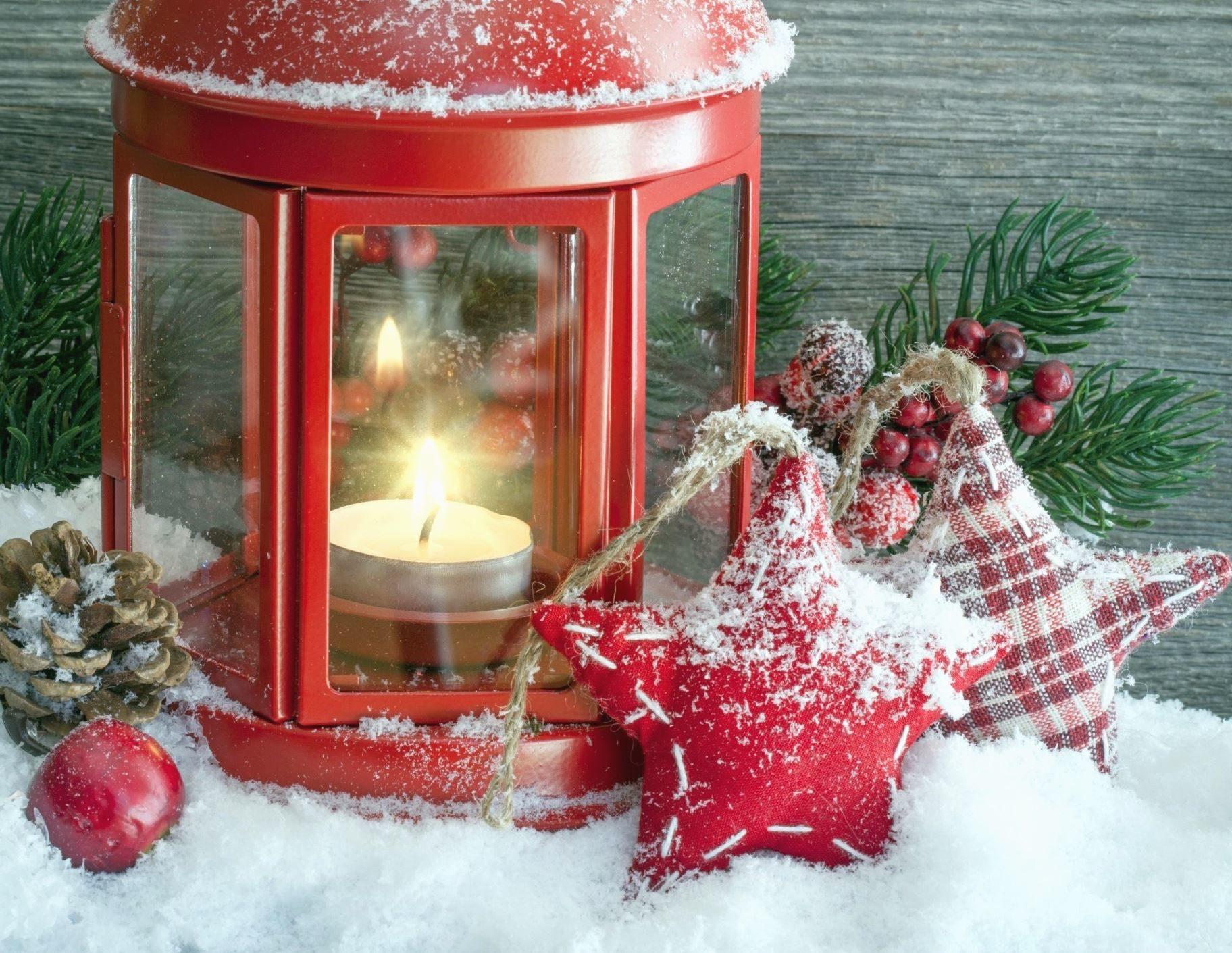 Christmas Wallpaper Gif Animations Kostenlose Bild Kerze Weihnachten Dekoration Schnee