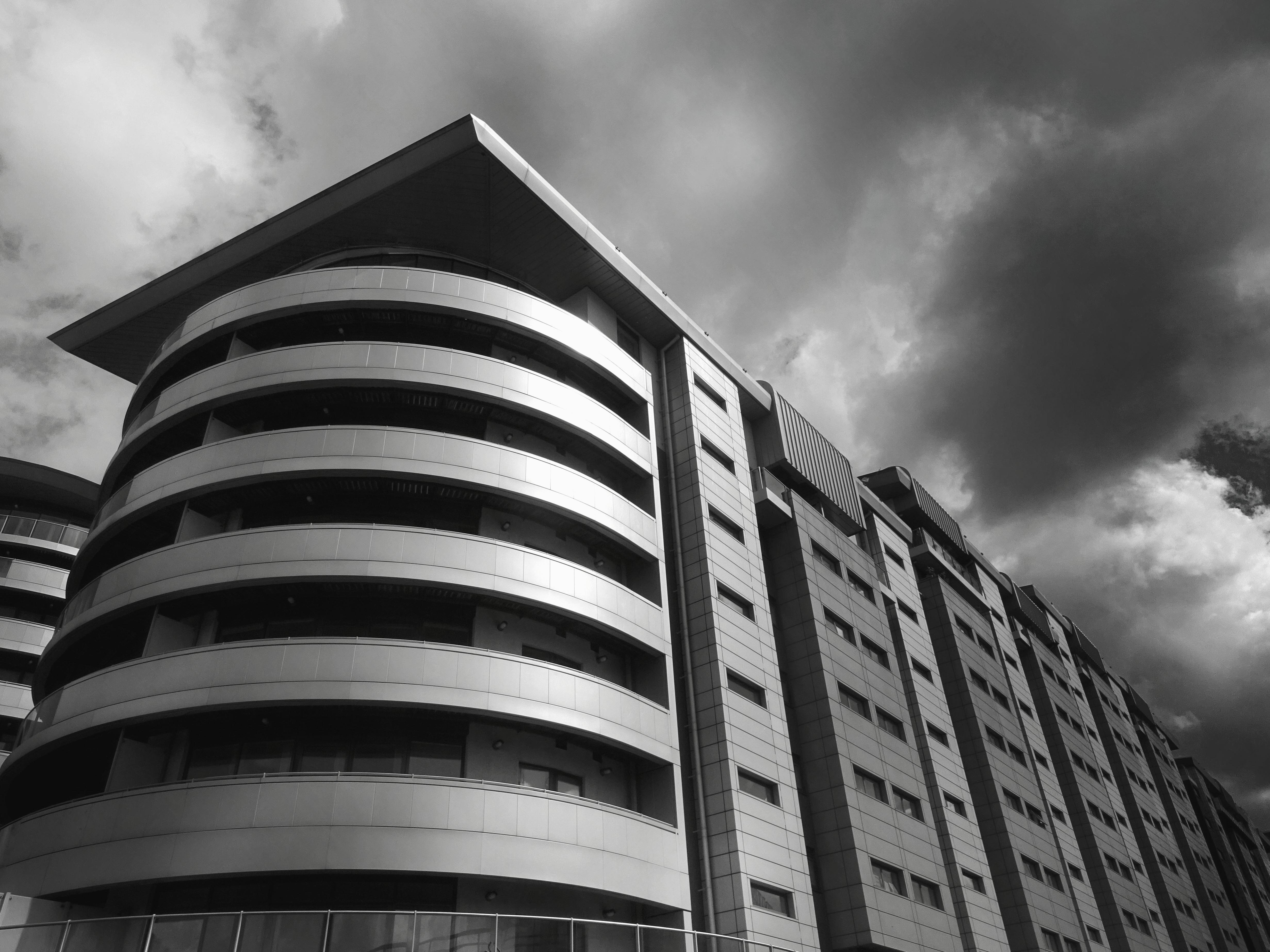 Singapore Wallpaper Hd Imagen Gratis Edificio Blanco Y Negro Complejo
