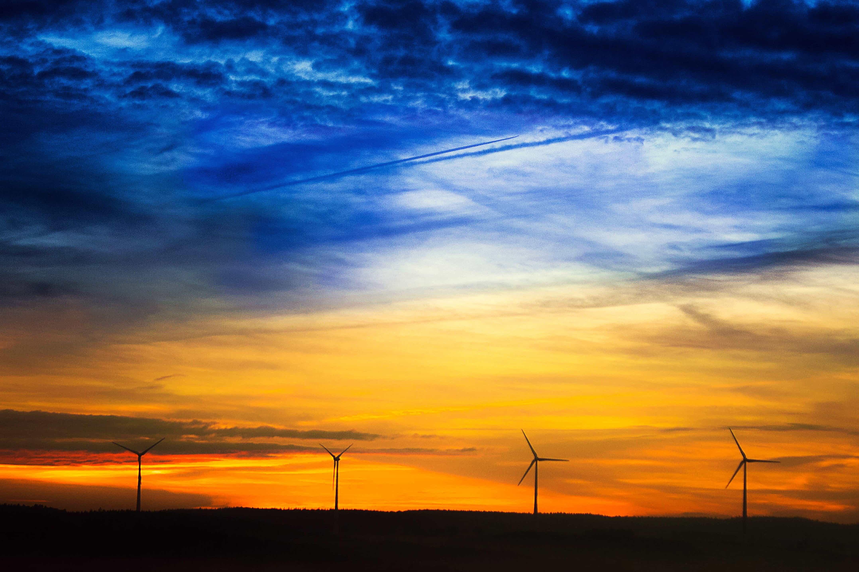 Summer Desktop Wallpaper Hd Free Picture Sunrise Cloud Silhouette Sky Electricity