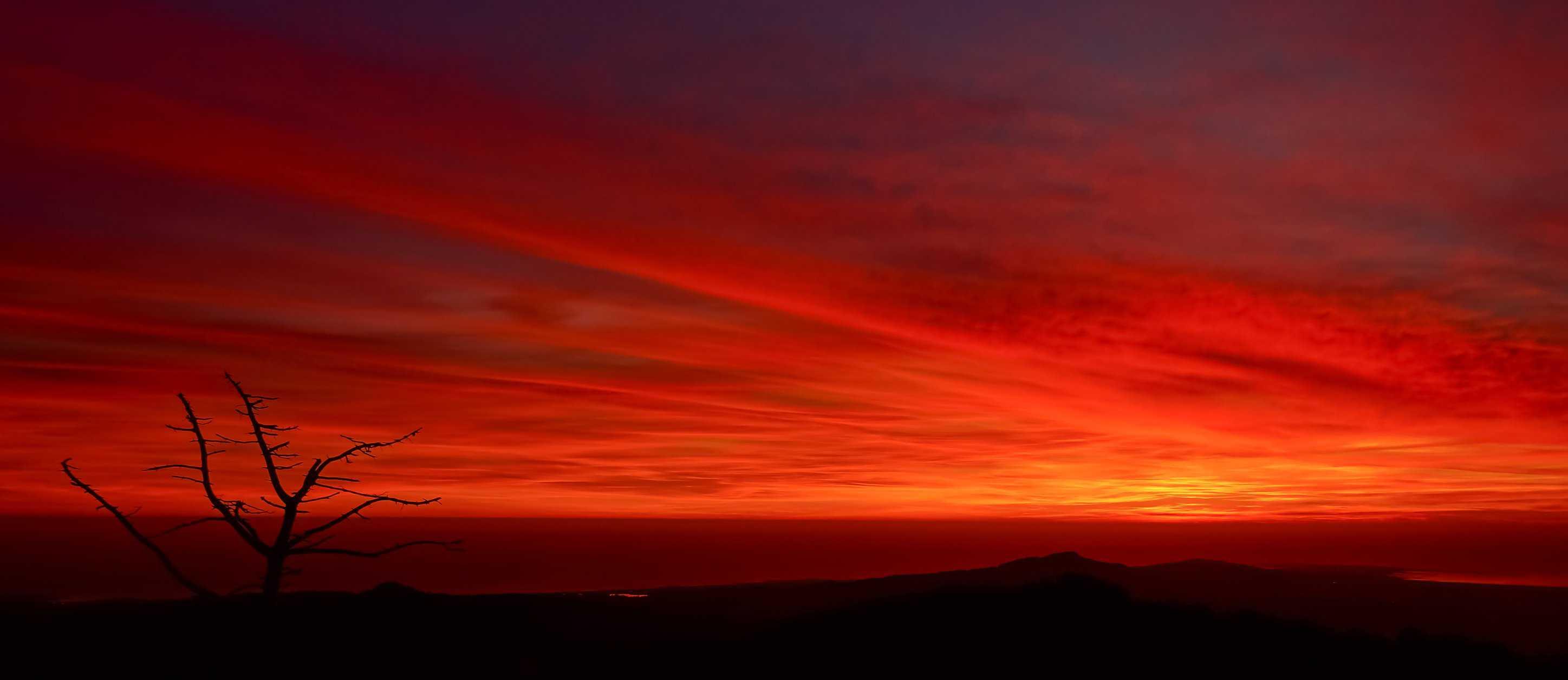 Dark Images Wallpaper Hd Free Picture Sunrise Red Dawn Dusk Sky Sun Nature