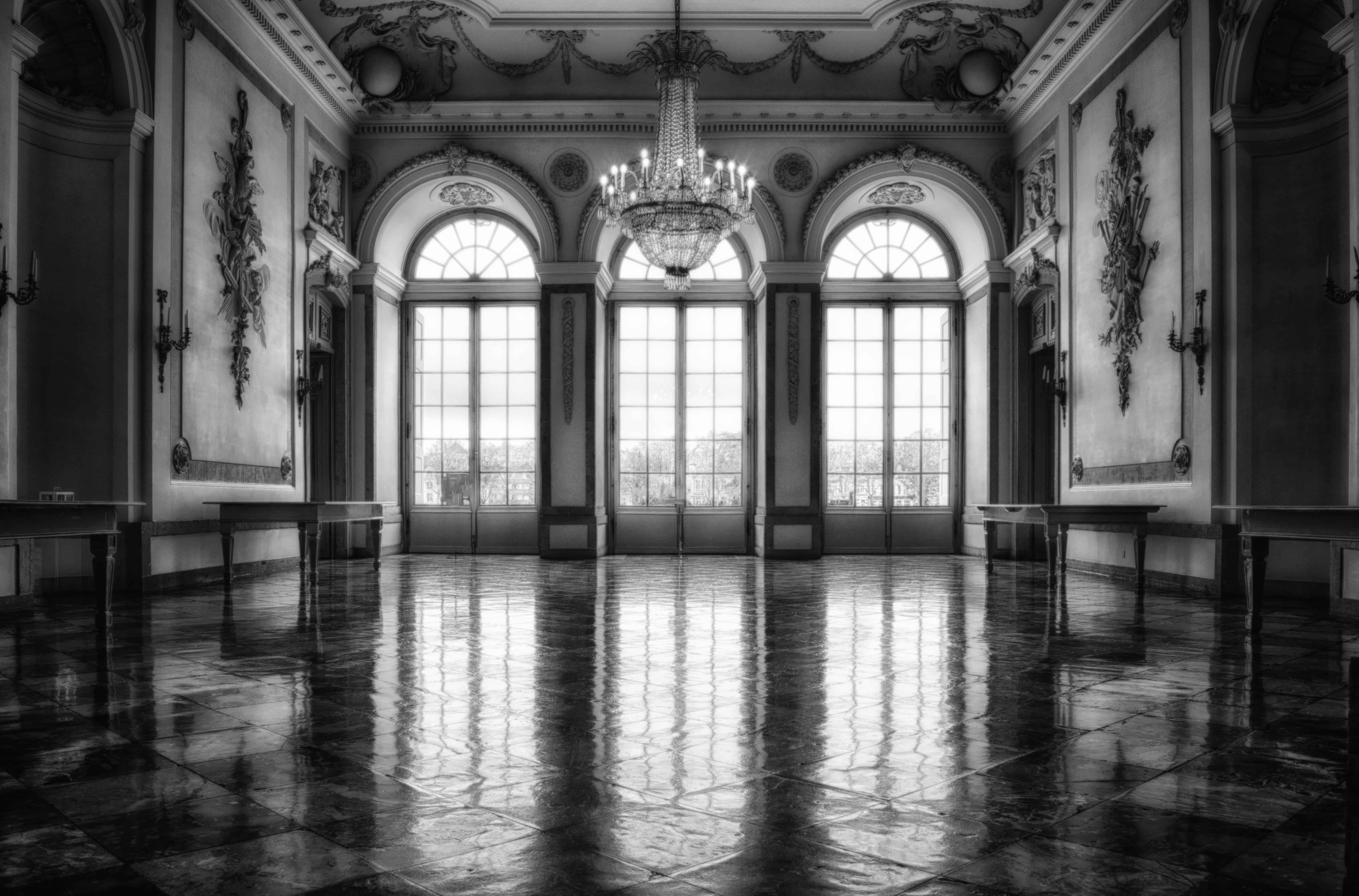 Wall Interior Decoration Free Picture: Architecture, Palace, Shadow, Monochrome