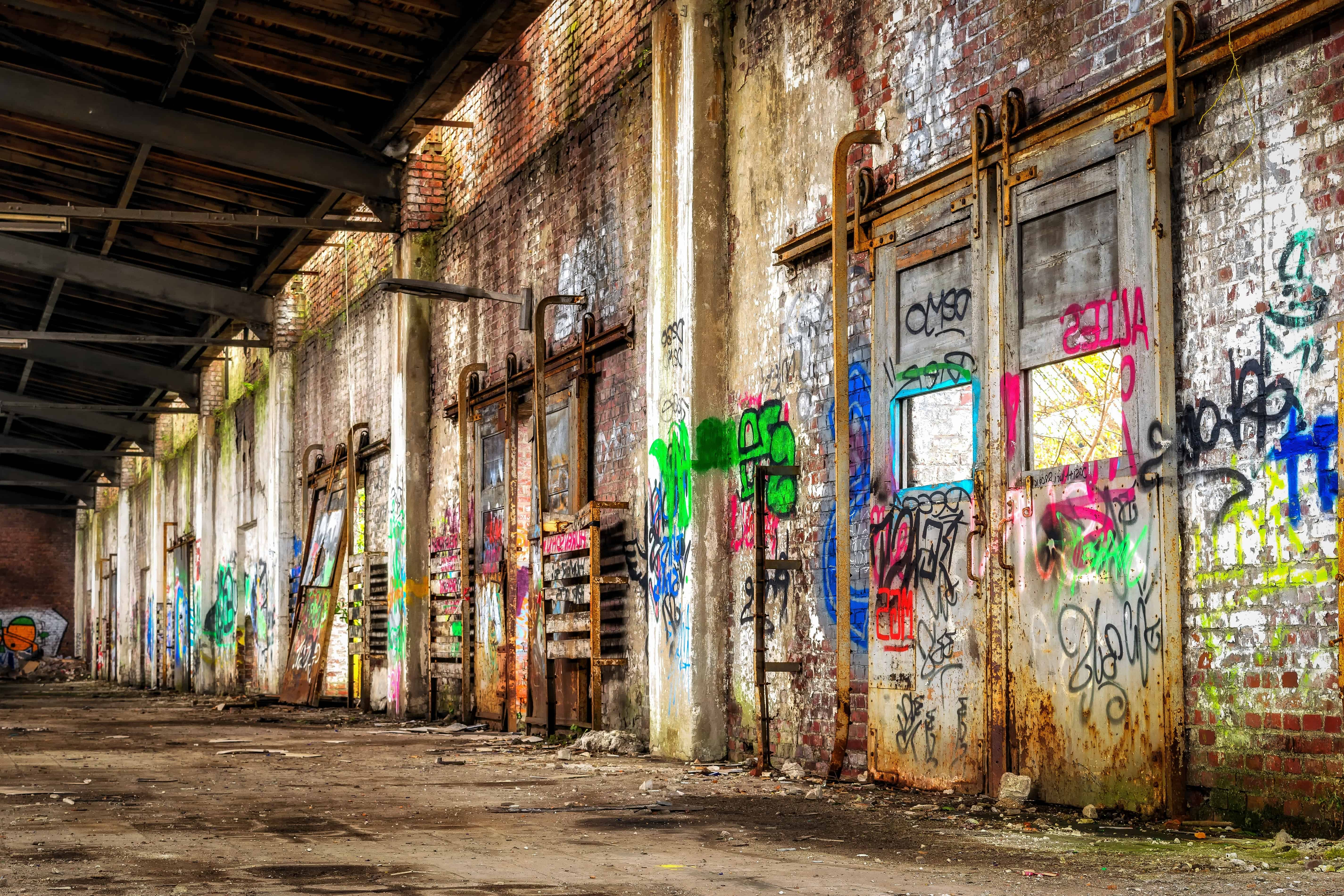 Old Wood Wallpaper Hd Free Picture Urban Warehouse Factory Industry