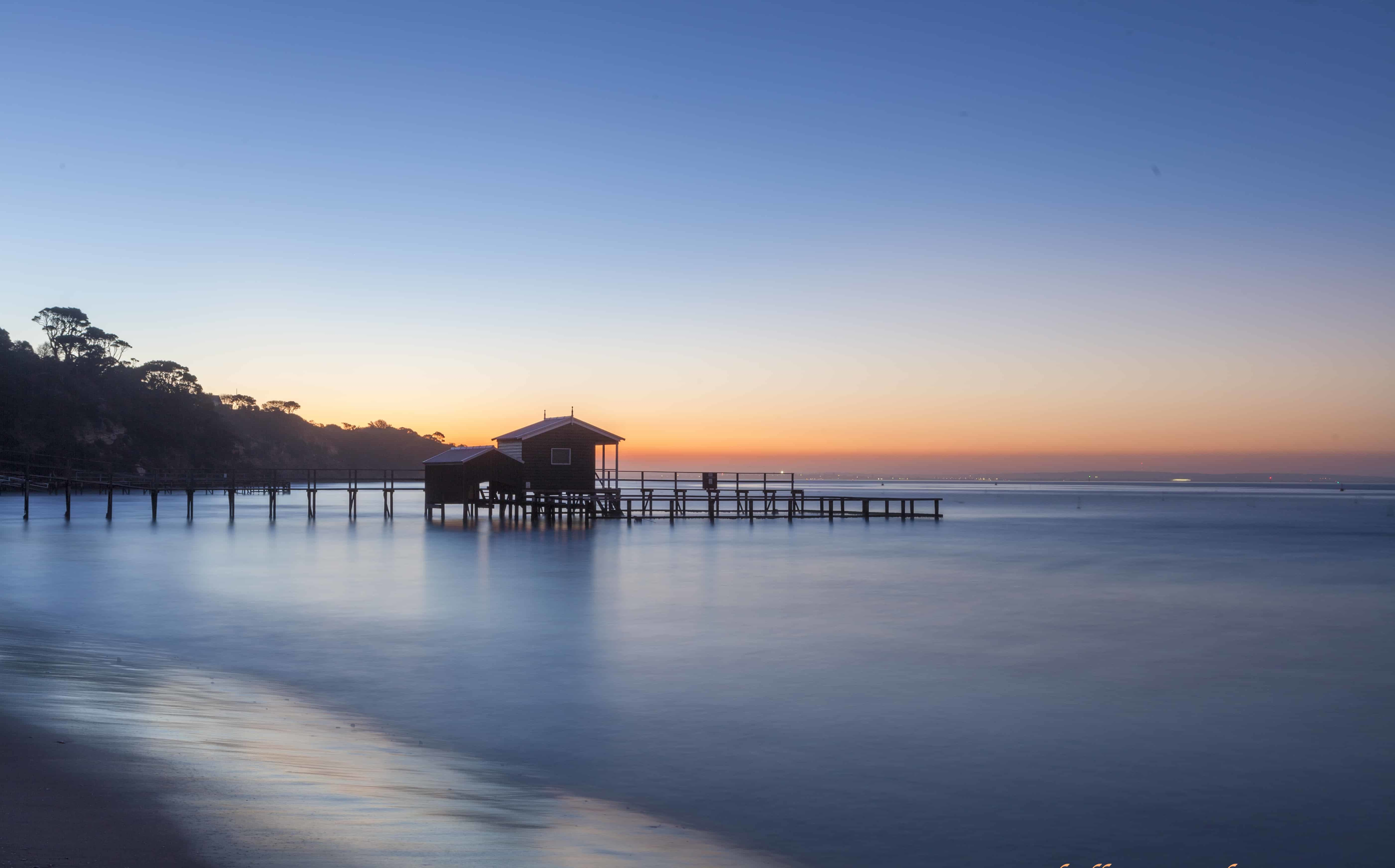 Wood Background Hd Wallpaper Free Picture Nature Dawn Sun Dusk Sunset Water Pier