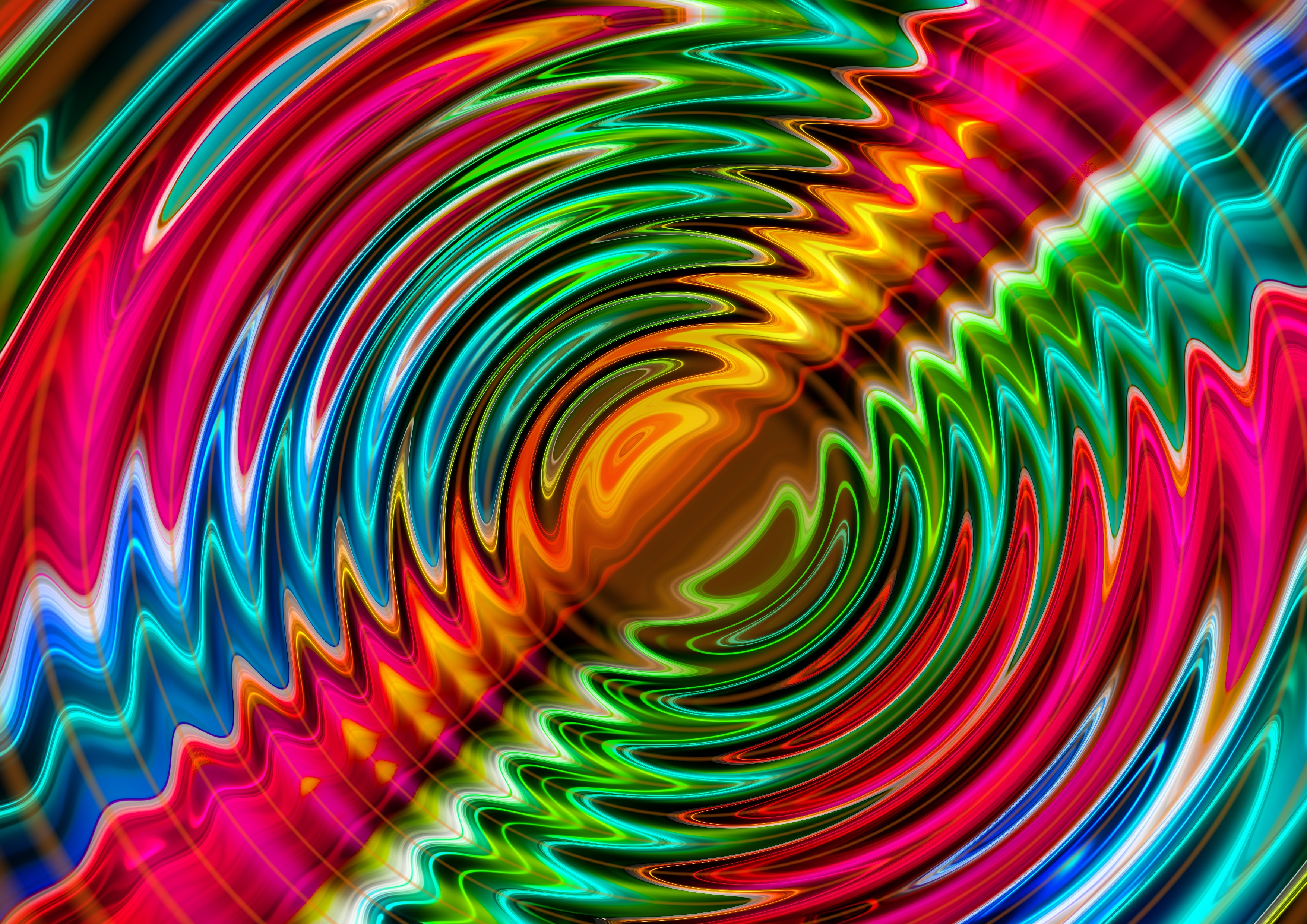 Iridescent Wallpaper Wallpaper With Iridescent Circles Free Image