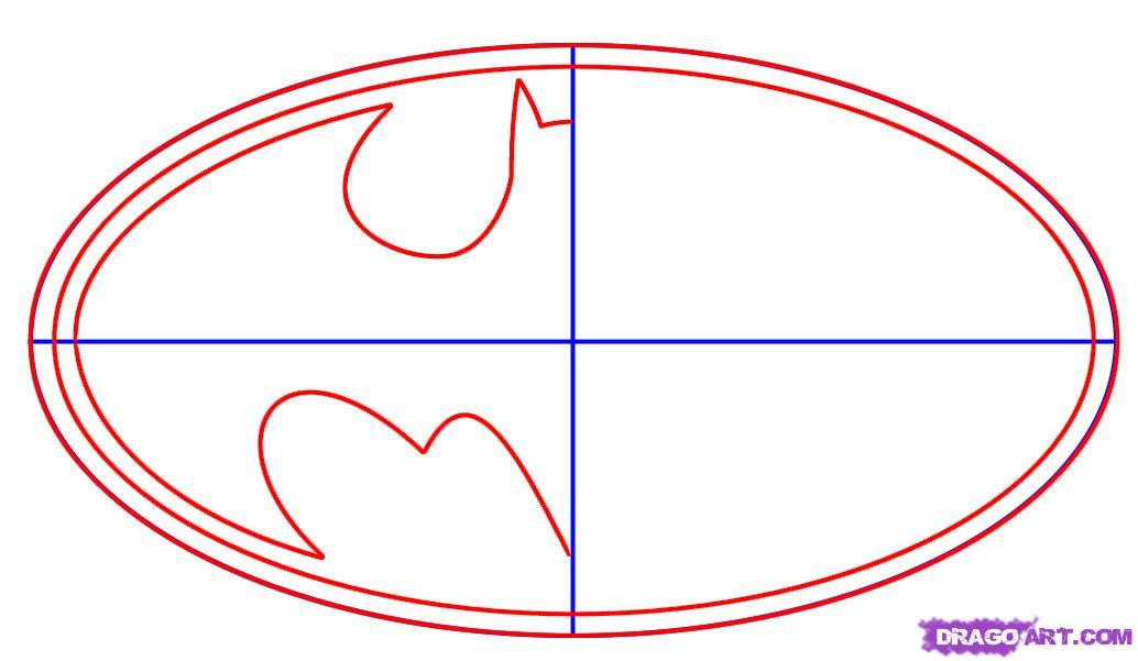 Printable Batman Symbol Template free image