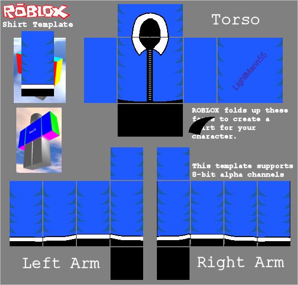 Roblox Shirt Template N2 free image